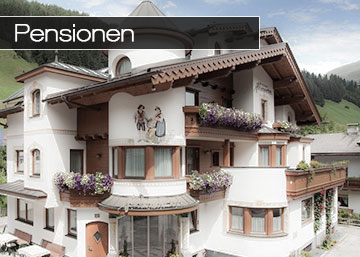 Pensionen Hintertux Zillertal Tirol