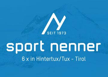 Skiverleih Sport Nenner Hintertux